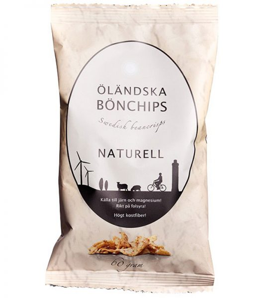 Bönchips Naturell 60g - 50% rabatt