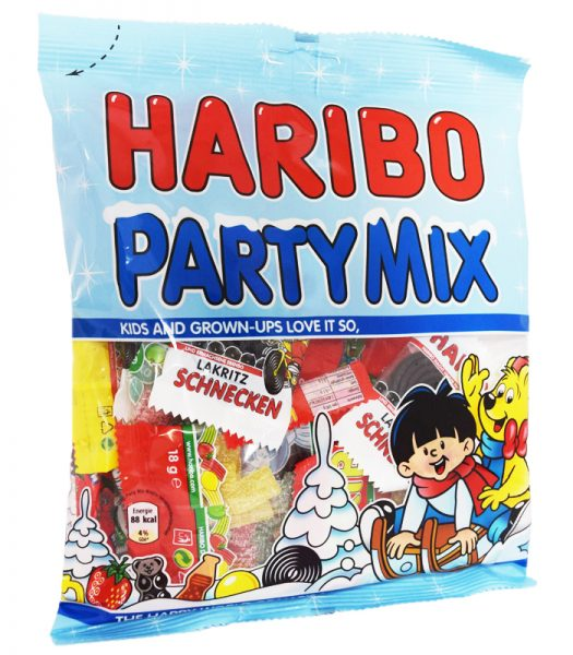 "Godisblandning ""Party Mix"" - 37% rabatt"