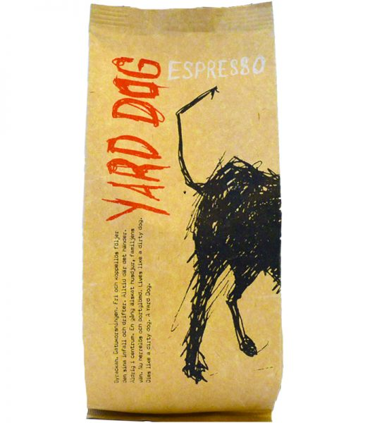 "Kaffebönor ""Yard Dog"" - 54% rabatt"