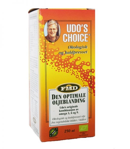 """Udo's Choice"" 250ml - 70% rabatt"