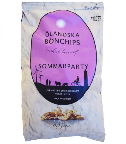 Bönchips Sommarparty 60g - 50% rabatt