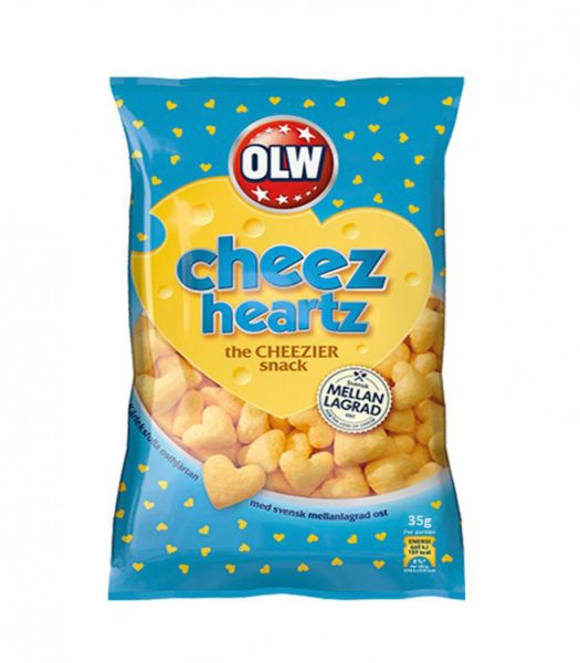 Cheez Heartz - 33% rabatt