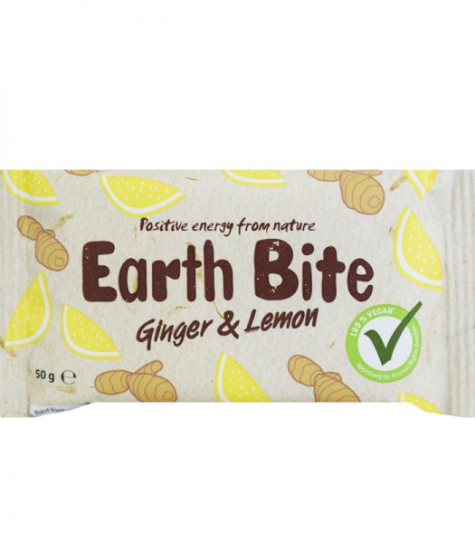 "Eko Bar ""Ginger & Lemon"" 50g - 65% rabatt"