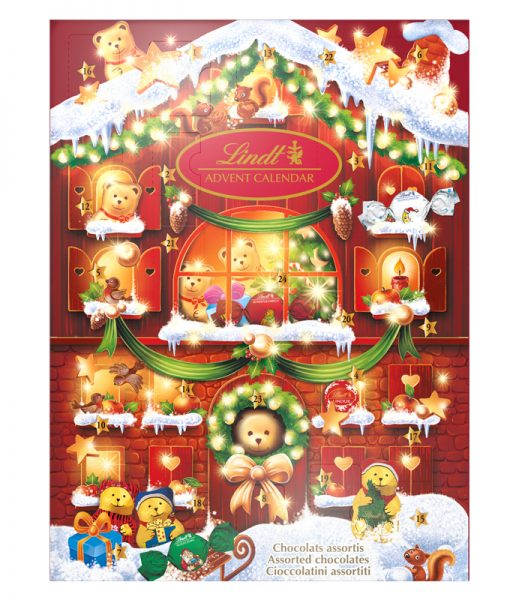 Adventskalender Teddy - 92% rabatt