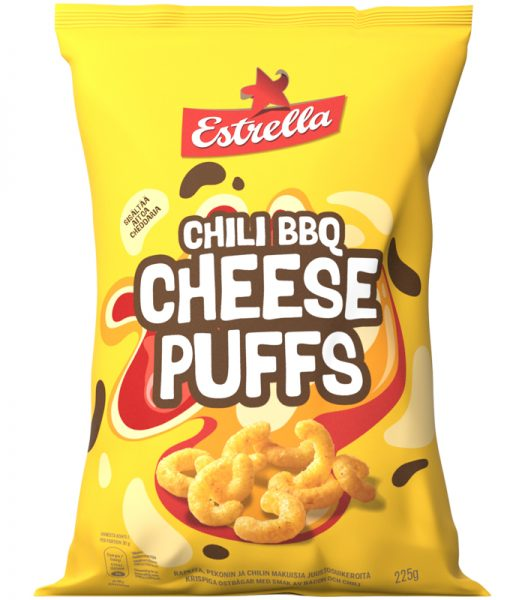 Cheese Puffs Chili BBQ - 25% rabatt