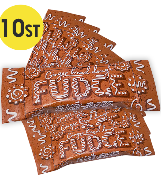 10st - Ginger Bread Fudge 18G