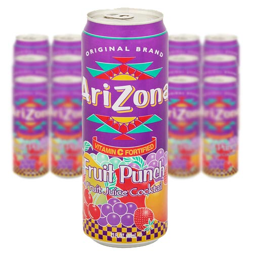 ARIZONA CAN FRUIT PUNCH 68cl x 24st