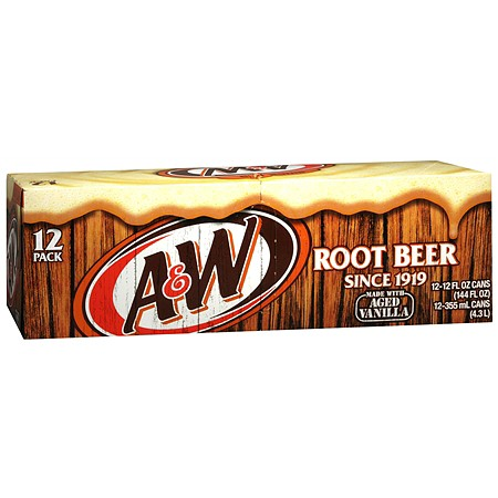 A&W Root Beer 355ml 12-pack
