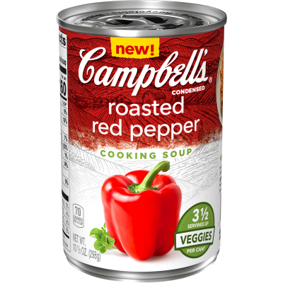 Campbells Roasted Red Pepper Cooking Soup 298g