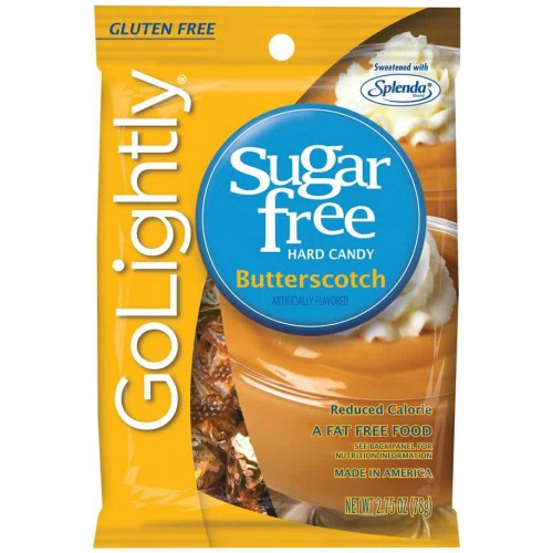 GoLightly Sugar Free Butterscotch Candy 78g