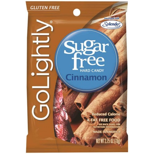 GoLightly Sugar Free Cinnamon Candy 78g
