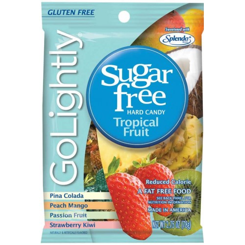 GoLightly Sugar Free Tropical Candy 78g