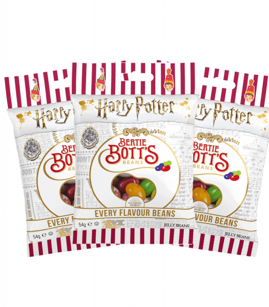 Harry Potters Bertie Botts Every Flavour 54g 3-pack
