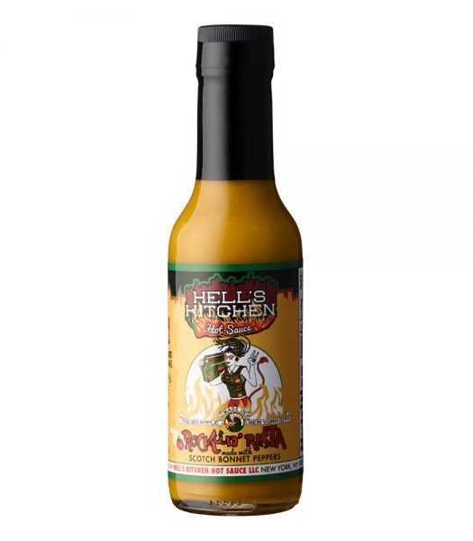 Hells Kitchen Rockin Rasta Hot Sauce 148ml