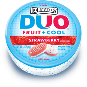 IceBreakers DUO Strawberry Mints