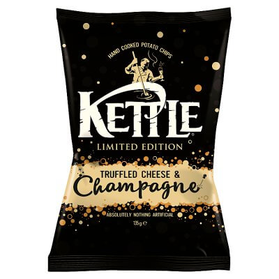 KETTLE Truffled Cheese & Champagne Chips 135g