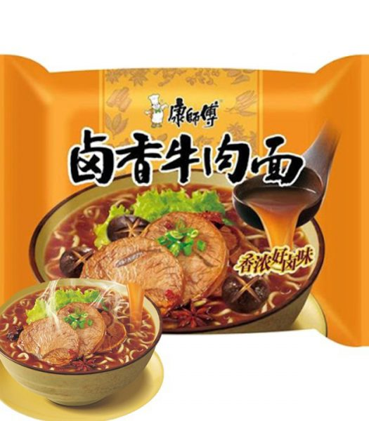 Kang Shi Fu Instant Noodle Marinated Beef Flavor 104g