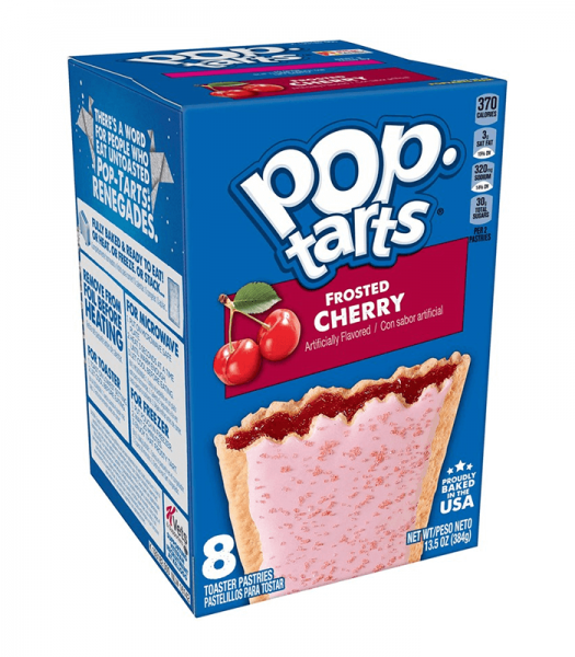 Kelloggs Pop-Tarts Frosted Cherry