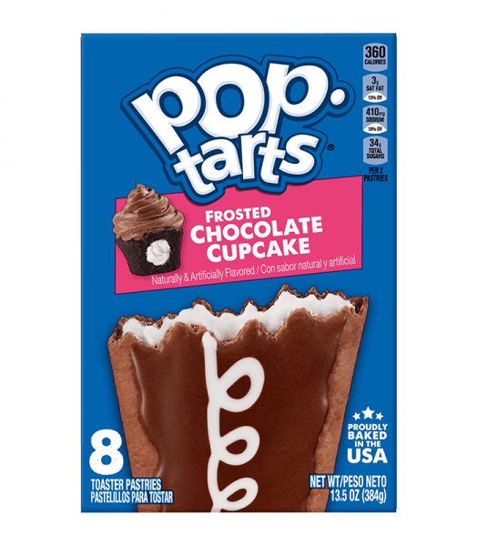 Kelloggs Pop-Tarts Frosted Chocolate Cupcake 384g