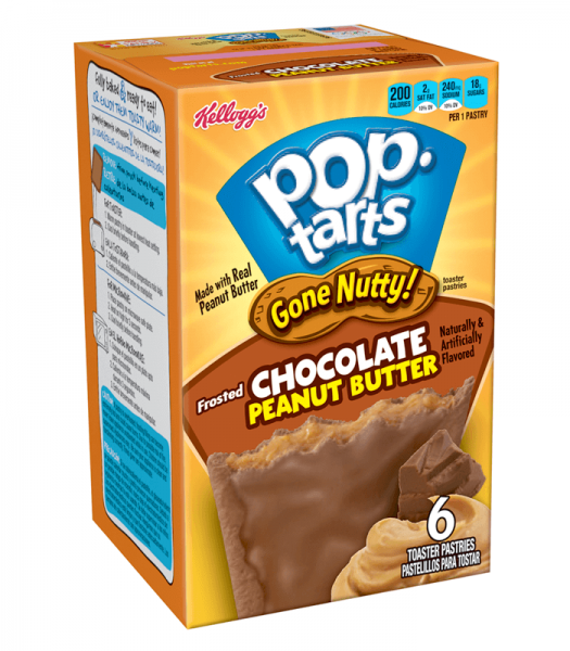 Kelloggs Pop-Tarts Frosted Chocolate Peanut Butter
