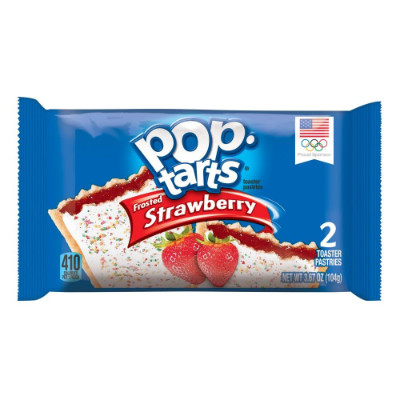 Kelloggs Pop-Tarts Frosted Strawberry 2-pack
