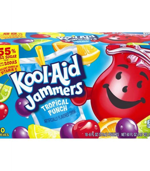 Kool-Aid Jammers - Tropical Punch 10-pack