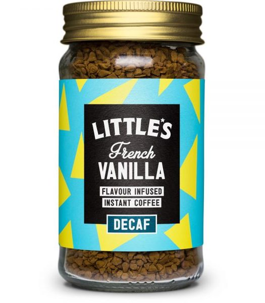 Littles Decaf French Vanilla Instant Coffee 50g