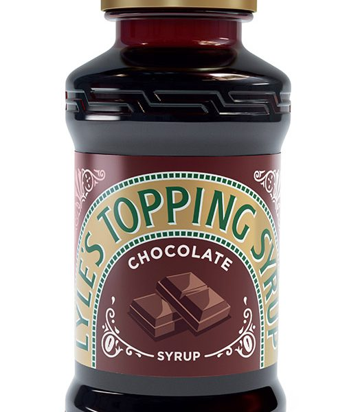 Lyles Squeezy Chocolate Syrup 325g