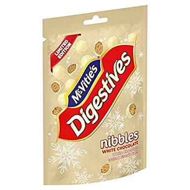 McVities Digestives Nibbles White Chocolate 120g
