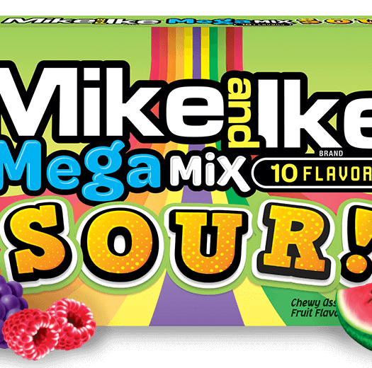 Mike and Ike Mega Mix Sour 142g