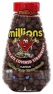 Millions Chocolate Covered Strawberry Gift Jar 227g