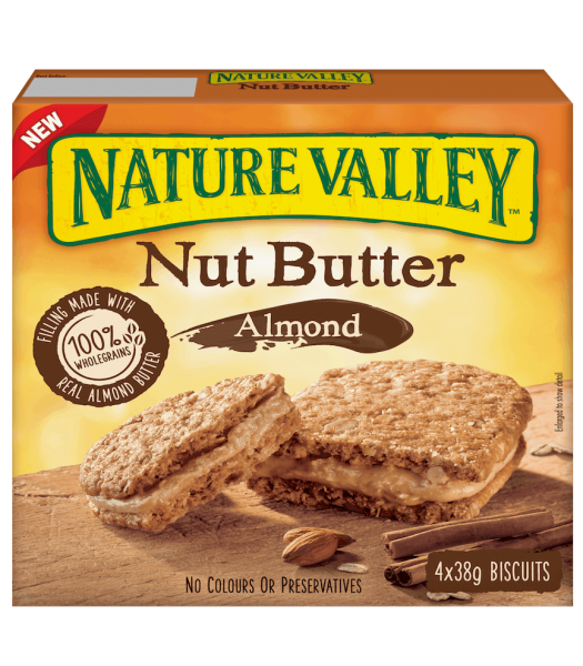 Nature Valley Nut Butter Almond Biscuits 152g
