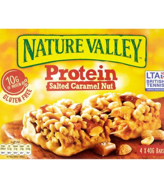 Nature Valley Protein Salted Caramel Nut 160g