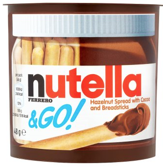 Nutella & Go Hazelnut Spread with Cocoa and Breadsticks 48g