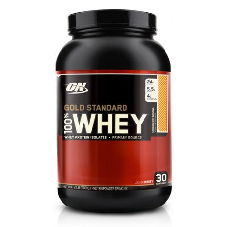 ON 100% Whey Gold Standard - Banana Cream 908g