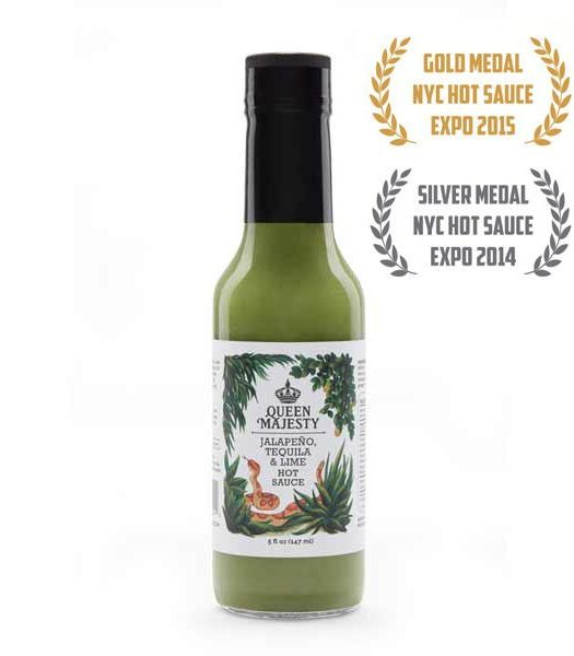 Queen Majesty Jalapeño Tequila & Lime Hot Sauce 147ml
