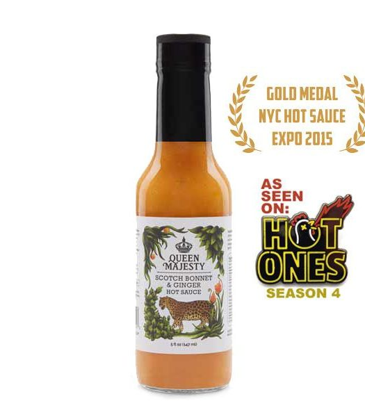 Queen Majesty Scotch Bonnet & Ginger Hot Sauce 147ml