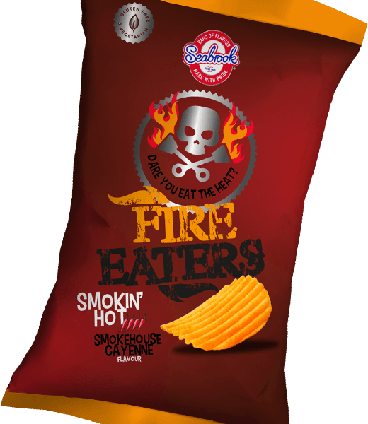 Seabrook Fire Eaters Smokehouse Cayenne Chips 150g