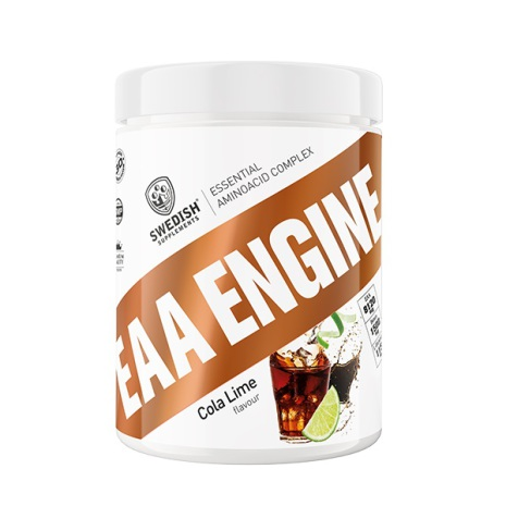 Swedish Supplements EAA Engine 450g - Cola Lime