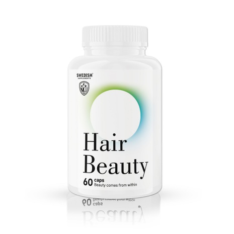 Swedish Supplements Hair Beauty - 60 caps