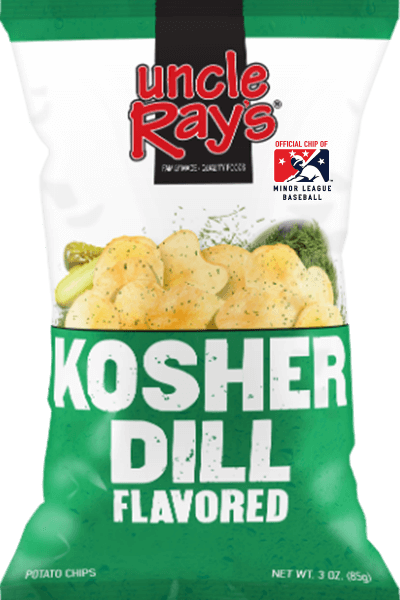 Uncle Rays Potato Chips - Kosher Dill 120g