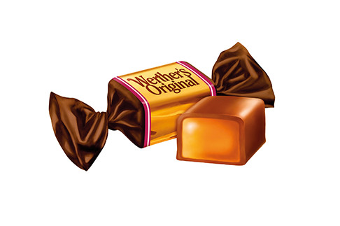 WERTHERS CHOCOLATE TOFFEE - 1 kg