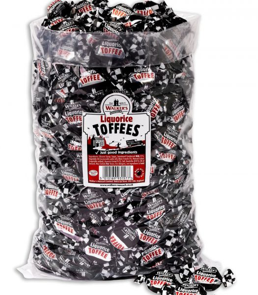 Walkers Liquorice Toffees 2.5kg